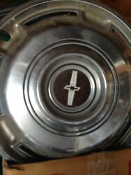Old Chevrolet Hubcaps - Set Of 4 -  Probably From The 1960's