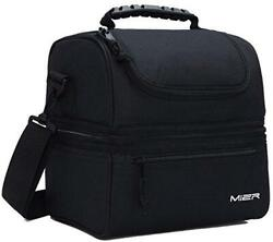 MIER Adult Lunch Box Insulated Lunch Bag Large Cooler Tote Bag for Men Women $27.89