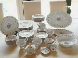 Treasure Chest Bavaria Fine China Set For 8 First Love Pattern- Local Pickup