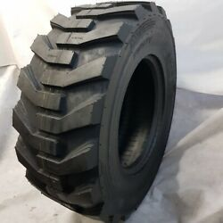 12-16.5, 12x16.5 Road Crew Nhs Tw171, 14 Ply Skid Steer Tires For Bobcat