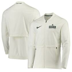 Michigan State Spartans Nike Sideline Elite Hybrid Rivalry Jacket Small 100