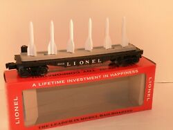 Lionel Pw 6844 Missile Carrying Car With Reproduction Box