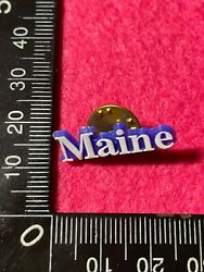 Collectable Pin Back Badge - Maine Bb252
