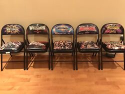 Wwe Wrestlemania 30, 31, 32, 33, 34, Front Row Chairs. Excellent Conditions.