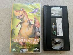 We're Back A Dinosaur's Story Vhs Video