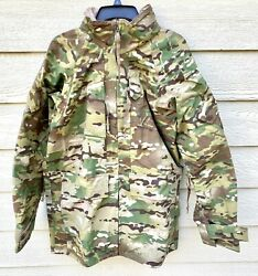 Us Army Issue Apec Gen Ii Gore Tex Multicam Cold/wet Weather Parka - Small Long
