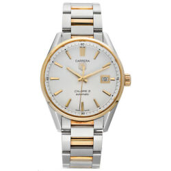 Tag Heuer Carrera War215b-1 18k Gold Stainless Steel 39mm Automatic Menand039s Watch