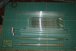 Lab Glass Pipets Cooling Towers Glass Tubing Used 16 Pipettes 15 Lengths Tubing