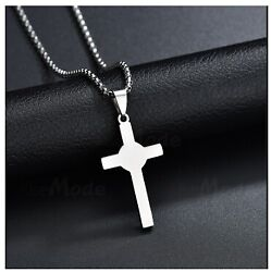 Solid Gold Cross Pendant Crucifix Design With High Polished Finished Sp38