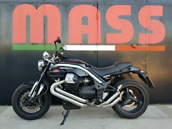 Massmoto Exhaust Full-system 2in2 Thesis Silencers For Moto Guzzi Griso 1200 8v
