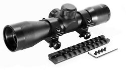 Trinity 4x32 Scope And Rail For Ruger Model 10/22 Mildot Reticle Aluminum Huntin