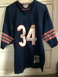 Men's Mitchell And Ness Chicago Bears 1975 Walter Payton Jersey Size 50