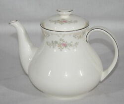 Discontinued Royal Doulton Romance Collection Diana Pattern Teapot New