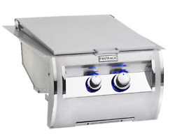Fire Magic Echelon Diamond Double Searing Station W/hinged Stainless Steel Cover