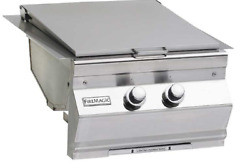 Fire Magic Aurora Double Searing Station W/hinged Stainless Steel Cover