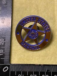 Collectable Pin Back Badge - United States Marshal Bb269