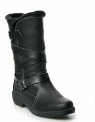 Totes Waterproof Boots Diedre Black Size 9 Med Brand New In Box $30.00