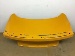 2015 2016 2017 2018 Ford Mustang Trunk Lid Oem Yellow Aluminum No Light No_dents