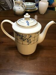 And Co Trellis Teapot Discontinued Pattern 2002