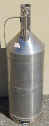 Seraphin Test Measures Fuel Calibration Stainless Tank 5 Gallons 31 Tall