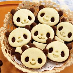 4pcs Cute Panda Sandwich Cookies Cutter Mold Biscuit Bread Cake Pastry Mould