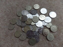 Collection Holiday Money 50x Iceland 1984 To 2011 Krona Coins - 375gr