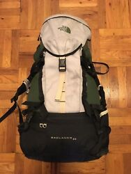 North Face Badlands 60 Hiking Pack w Carbon Fiber Frame Northface Backpack $74.99