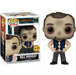 Funko Pop Movies Zombieland Bill Murray 1000 Limited Chase Edition New 2020