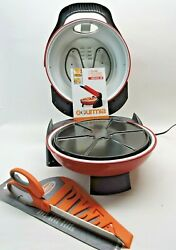 Gourmia Pizza Maker Gpm1300- Free Shipping Free Pizza Cutter
