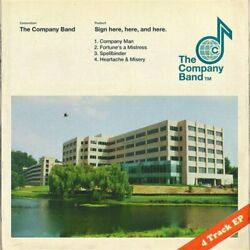 The Company Band-`sign Here Here And Here.` Us Import Vinyl Lp New