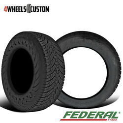 2 X New Federal Couragia S/u 255/70r16 111h All-season Highway Tire