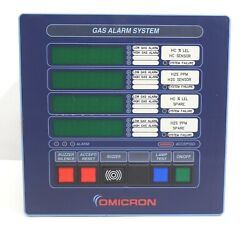 Omicron Ogs 2.1 Fixed Detection Gas Alarm System Micro Controller Based Panel Im