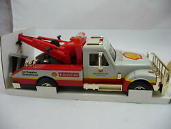 1997 Shell Wrecker Tow Truck With Lights And Sounds Serialized Gold Limited Ed Nib