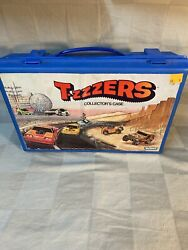 1980 Mini Ssp Tzzzers Collector's Case Holds 12 Cars Kenner General Mills