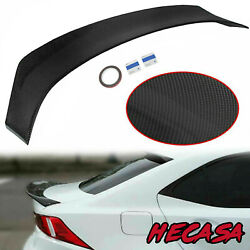 FOR 2014 2020 LEXUS IS200t IS250 IS350 AR STYLE CARBON STYLE TRUNK SPOILER WING