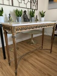 Vintage French Mid 19th Entrance Table