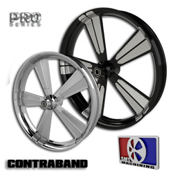 21x5.5 Inch Contraband Fat Tire Motorcycle Wheel For Harley Bagger Touring 180
