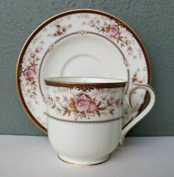 Noritake - Brently - Fine Bone China Cup And Saucer