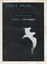 Chekhov's The Seagull - Queens Theatre Programme 1964-peggy Ashcroft,peter Finch