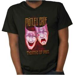 Theatre Of Pain Motley Crue 80s Album Tour Adult Short Sleeve Crewneck Tee
