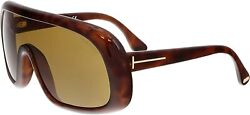 Authentic Tom Ford FT0471 56E Sunglasses Havana w Brown *NEW* $109.00