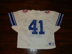 Vintage 1986 Freedom Bowl Mcdougall Byu Cougars Ucla Bruins Authentic Jersey L