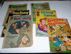 11 Comic Books Bugs Bunny, Audrey Melvin, D Duck, Others S5