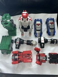 Vintage Mixed Lot Of Original Power Rangers Zords Toys By Bandai 1994