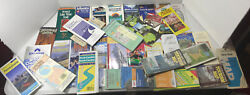 Large Lot Of Vintage Maps And Brochures 1990andrsquos - 2000andrsquos United States Ny Nc Sc