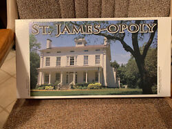St James-opoly Family Board Game Deepwells Farms 1845 St James Ny Very Rare New