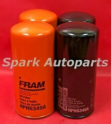 Case Of 6 Engine Oil Filter-spin-on Combination Oil Filter Fram Hph6349a
