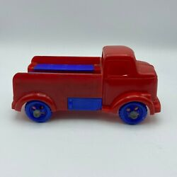 Ideal Fix It Truck Model 2320 Red W/ Blue, No Accessories, Made In The Usa