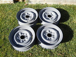 And03965 Chevy Nova/chevelle Original 14 Wheels For Use As Spares