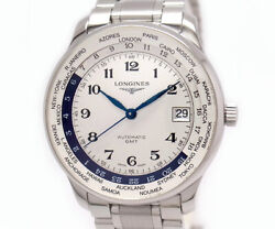 Auth Longines Watch Master Collection L2.631.4.70.6 Automatic Case 38mm Date F/s